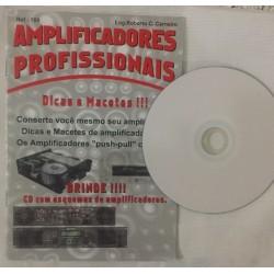 Livro e CD com Esquemas Amplificadores Profissionais