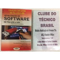 Livro e DVD aula Atualização de Software