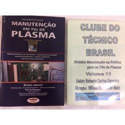Livro e DVD aula TVs de Plasma