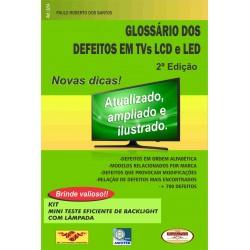 Livro Glossário dos Defeitos em TVs LCD e LED. 2ª Edeição