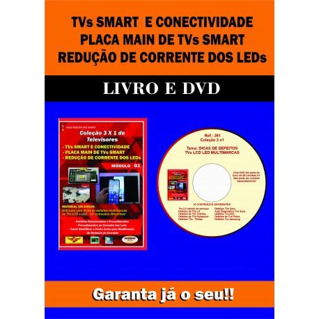 Col.3x1 TVs.Smart,Placa Main e Redução de Corrente LEDs.