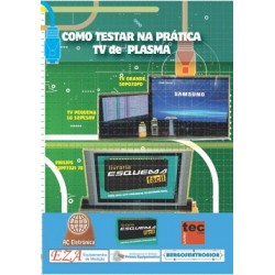 Curso em DVD aula Como Testar na Prática TV de Plasma