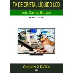 DVD aula Curso Completo TV LCD