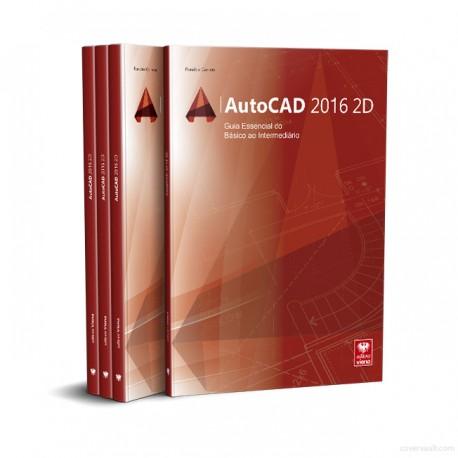 Livro AutoCad 2016 2D.