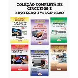 Coleção Completa de Circuitos e Proteção TVs LCD e LED