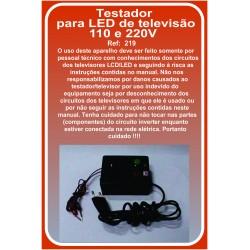 Testador para LED de televisão 110 e 220V